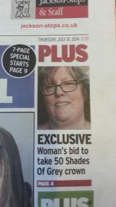 Whitstable Gazette front 010814